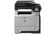 Принтер HP LaserJet Pro M521dn Multifunction Printer A4; RA4; B5; B6; A5; A6; Envelopes 1200 x 1200 dpi 42 ppm  As fast as 8.0 sec 256 MB max 256 MB800 MHz duplex 1 Phone; USB 2.0; 10/100/1000 Base TX; 1 Telecom ADF scan 1 200 x 1 200 dpi 6000 стр. /