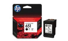 Консуматив HP 651 Original Ink Cartridge; Black;  Page Yield 600; HP DeskJet Ink Advantage 5575; 5645; HP OfficeJet 202 Mobile Printer; 252