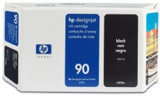 Консуматив HP 90 Standard Original Ink Cartridge; Black 400 ml;  ; HP DesignJet 4000, 4020, 4500, 4520