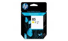 Консуматив HP 85 Standard 1-Pack Original Ink Cartridge; Yellow;  Page Yield 304; HP DesignJet 30, 90, 130