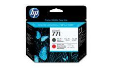 Консуматив HP 771 Standard 1-Pack Original Ink Cartridge; Matte Black + Chromatic Red ;  ; HP DesignJet Z6200