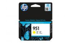 Консуматив HP 951 Standard Original Ink Cartridge; Yellow;  Page Yield 700; HP OfficeJet Pro 251; 276; 8100; 8600