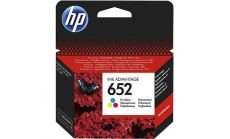 Консуматив HP 652 Original Ink Cartridge; Tri-Color;  Page Yield 200; HP DeskJet Ink Advantage 1115; 2135; 3635; 3775; 3785; 3787 ; 3835; 4535; 4675;