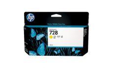 Консуматив HP 728 Standard 1-Pack Original Ink Cartridge; Yellow 130 ml;  ; HP DesignJet T730, T830
