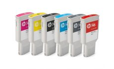 Консуматив HP 745 Standard 1-Pack Original Ink Cartridge; Cyan;  ; HP DesignJet Z2600, Z5600