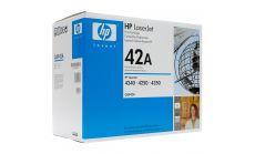 Консуматив HP 42A Original LaserJet cartridge; black; 10000 Page Yield ; 1 - pack; LJ 4240/4250/4350