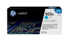 Консуматив HP 503A Original LaserJet cartridge; cyan; 6000 Page Yield ; 1 - pack; CLJ 3800/CP3505