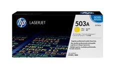 Консуматив HP 503A Original LaserJet cartridge; yellow; 6000 Page Yield ; 1 - pack; CLJ 3800/CP3505