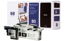 Консуматив HP 80 Standard Original Ink Cartridge; Black;  Page Yield 2500; HP DesignJet 1050, 1055
