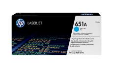 Консуматив HP 651A Original LaserJet cartridge; cyan; 16000 Page Yield ; 1 - pack; CLJ Enterprise 700 color MFP M775