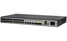 Суич HUAWEI S5720-32X-EI-24S-AC(24 Gig SFP,4 Ethernet 10/100/1000 ports,4 10 Gig SFP+,AC 110/220V,front access)