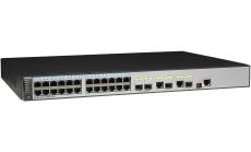 Суич HUAWEI S5720-28TP-PWR-LI-AC(24 Ethernet 10/100/1000 ports,2 Gig SFP and 2 dual-purpose 10/100/1000 or SFP,PoE+,370W POE AC 110/220V)
