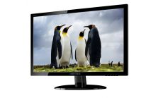 "HANNS.G HE225ANB  Монитор 21.5""W  LED,1920x1080 Anti glare 90/65 VGA Black Glossy panel"