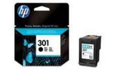 Консуматив HP 301 Standard Original Ink Cartridge; Black;  Page Yield 190; HP DeskJet 1000; 1010; 1050; 2000; 2050; 2540; 3000; 3050; 3054; 2620; 4500