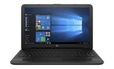 HP 250 G5 Intel® Celeron® N3060 with Intel HD Graphics 400 (1.6 GHz, up to 2.48 GHz, 2 MB cache, 2 cores)  15.6 HD AG 4 GB DDR3L-1600 SDRAM (1 x 4 GB) 500 GB 5400 rpm SATA DVD/RW 3-cell Battery FREE DOS,2 Years warranty