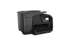 Принтер HP OfficeJet Pro 8710 All-in-One Printer A4; A5; A6; B5; Envelopes;DL 1200 x 1200 dpi 22 ppm 18 ppm DL HP PCL 3 GUI; HP PCL 3 Enhanced USB 2.0; 802.11b/g/n  WLAN; RJ-11 ADF scan 1 200 x 1 200 dpi
