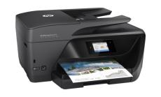 Принтер HP OfficeJet Pro 6970 All-in-One Printer  A4; A5; A6; B5; Index card A; Envelopes;DL 1200 x 600 dpi 20 ppm 10 ppm DL HP PCL 3 GUI; HP PCL 3 Enhanced USB 2.0; 802.11b/g/n  WLAN; RJ-11 ADF scan 1 200 x 1 200 dpi