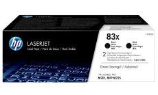 Консуматив HP 83X Original LaserJet cartridge; black; 2200 Page Yield ; 2 - pack; HP LaserJet Pro M201/MFP M225