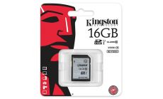 Карта памет Kingston SDHC 16GB, Class 10 UHS-I