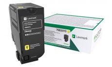 Yellow Toner Cartridge,3,000 pages,CS720de / CS720dte / CS725de / CS725dte / CX725de / CX725dhe / CX725dthe, Return Programme