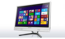 """Lenovo IdeaCentre C460 21.5"""" i5-4460T up to 2.7GHz QuadCore, GT800M 2GB, 4GB, 1TB 7200rpm, DVD, WiFi, BT, HD cam, White + USB keyboard and mouse"""