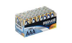 Алкални батерии MAXELL LR03 1,5V AAA 32 бр. pack