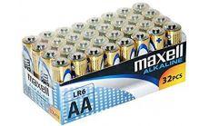 Алкални батерии MAXELL LR6 1,5V AA 32 бр. pack