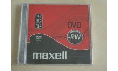 DVD-RW 4.7Gb 1бр. slim case MAXELL