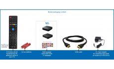 Мултимедиен плеър VENZ V10, UHD 4K @ 60fps, 1GB DDR3, Wi-Fi, LAN RJ45