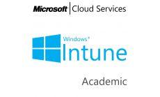 MICROSOFT Intune Open Shared Server, Academic, Volume License Subscription (VLS), Cloud, Single Language Language, Multiple, 1 year
