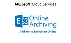 MICROSOFT Exchange Online Archiving, , Any, Volume License Subscription (VLS), Cloud, Single Language Language, 1 user, 1 year