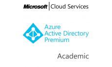 MICROSOFT Azure Active Directory Premium, , Academic, Volume License Subscription (VLS), Cloud, Single Language Language, 1 user, 1 year
