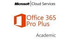 MICROSOFT Office 365 Professional Plus, , Academic, Volume License Subscription (VLS), Cloud, Single Language Language, 1 user, 1 year