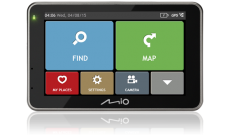 GPS навигация с вградена камера за автомобил MIO COMBO 5207 FULL EUROPE TRUCK LM plus 8GB SD card