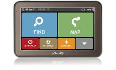GPS навигация MIO SPIRIT 7670 TRUCK FULL EUROPE inc LIFETIME MAP VOUCHER (EEU)
