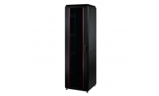 MIRSAN MR.GTV42U88.11 :: Сървърен шкаф - 800 x 800 x 2053 мм / 42U, D=800 мм, 1000 кг товар, черен, свободно стоящ, Versatile