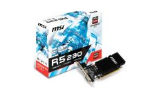 MSI Video Card Radeon R5 230 GDDR3 2GB/64bit, PCI-E 2.1 x16, HDMI, DVI, VGA, Heatsink, Retail
