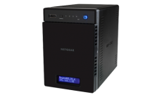 Сторидж Netgear READYNAS 214 (4 BAY DISKLESS) ReadyCLOUD, eSATA, 2x1Gbe, 3x USB3.0, Link Agregation