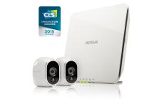 Видео охранителна система Netgear Arlo - включени 2 DAY/NIGHT камера Arlo, батерии, хъб BNDL