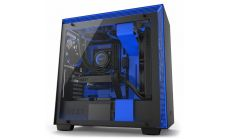 Кутия NZXT H700i Smart Mid-Tower, Black/Blue