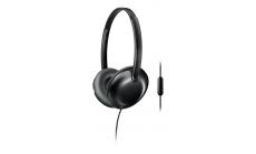 Philips Слушалки с микрофон, цвят: бял