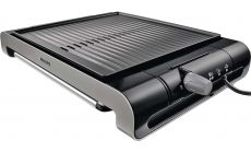 Philips Настолен грил  Ribbed plate 2000 W