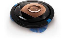 Philips Прахосмукачка-робот SmartPro Compact Накрайник TriActive XL, 6 см тънък дизайн, Система на 4 колела, 120 мин време за работа