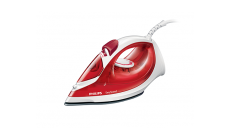 Philips Парна ютия EasySpeed 2000W 25g/min steam, Anti-calc, red