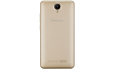 "Prestigio Muze G3 LTE, 5.0"" HD(1280*720) IPS display, Dual SIM, Android 6.0, 1.3GHz Quad Core, 1GB DDR, 8GB Flash, 0.3MP front + 8.0MP AF rear camera with flash light, 2400mAh battery, color/Gold"