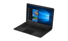 """Prestigio SmartBook 141 C2, 14.1"""" (1920*1080) IPS (anti-Glare), Windows 10 Home, up to 2.4GHz DC Intel Celeron N3350, 3GB DDR, 32GB Flash, BT 4.0, WiFi, Mini HDMI, HDD 2.5'' slot, RJ45 port, 0.3MP Cam, EN+RU kbd, 5000mAh, 7.4V bat, Slate grey"""