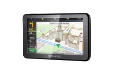 "Prestigio GeoVision 5058 (5.0"", TFT, 480х272, Win CE 6.0, CPU MSTAR 2531A 800 MHz, 128 MB RAM, 4 GB internal, 16 GB microSD card, FM, 950 mAh, Black, Metal frame, Navitel navigation software, preinstalled maps of Full Europe (45 countries)) Free Life"