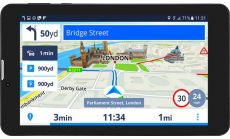 "Prestigio GeoVision Tour 3 (7.0"", IPS, 1280х720, Android 7.0, CPU Cortex A7 DC 1.3 GHz, 1 GB RAM, 8 GB internal, 0.3+2.0MP, FM, 3G, WiFi, BT, SIM card slot, 2800 mAh, Black, Plastic, Sygic navigation software, preinstalled maps: Bulgaria)"