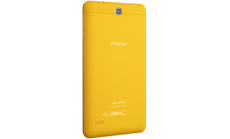 Prestigio Wize 3418 4G, 8''(800*1280)IPS display, Single SIM, Android 6.0, up to 1.1GHz 64-bit quad core, 1GB DDR, 8GB Flash, 0.3MP Front + 2.0MP rear camrear camera, 4200mAh battery, color/Yellow