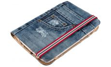 """TRUST Jeans Folio Stand for 7-8"""" tablets"""